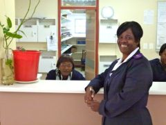 Bericht 2012: Three dentists in Namibia